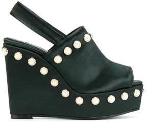 Castaner pearl embellished sandals
