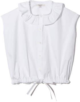 Atlantique Ascoli Petite Anémone Blouse in White, XS
