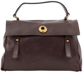 Saint Laurent Muse Two leather bag - BROWN - STYLE