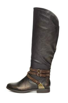 Yellow Box Tall Riding Boot