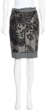 A.F.Vandevorst A.F. Vandevorst Knee-Length Patchwork Skirt