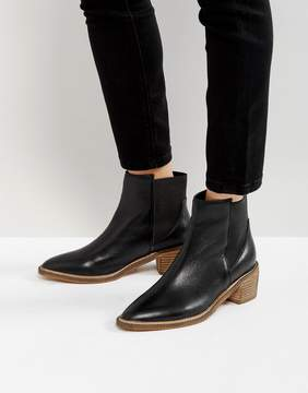 Park Lane Leather Kitten heel Chelsea Boots