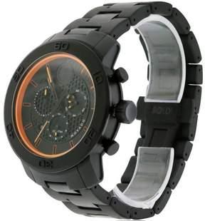 Movado Bold Chronograph Black Dial Titanium Men's Watch 3600190