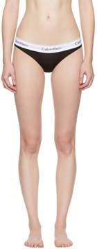 Calvin Klein Underwear Black Modern Cotton Bikini Briefs