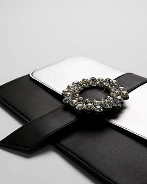 Express Gem And Pearl Clutch