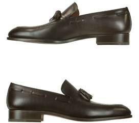 Fratelli Rossetti Men's Brown Leather Loafers.
