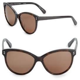 Stella McCartney 57MM Classic Cat Eye Sunglasses