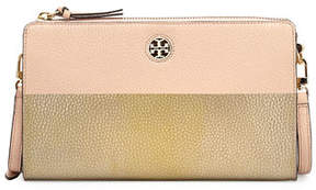 Tory Burch Perry Colorblock Wallet Crossbody Bag - FRENCH GRAY/SILVR - STYLE