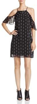 Aqua Arrow-Print Ruffle Dress - 100% Exclusive
