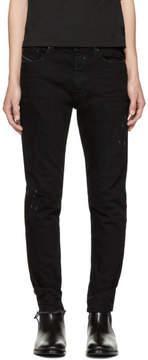 Diesel Black and Navy Jifer Jeans
