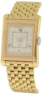 Bedat & Co No. 7 18K Rose & Yellow Gold & Diamond 26mm x 36mm Watch