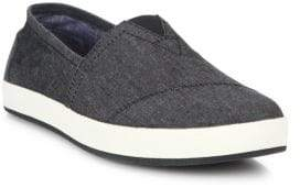 Toms Avalon Chambray Slip-On Sneakers