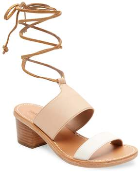 Soludos Women's Leather Ankle-Strap Sandal