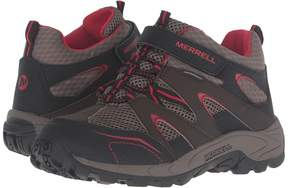 Merrell Hilltop Mid Quick Close Waterproof Boys Shoes