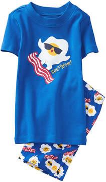 Gymboree Blue 'Eggstreme' Pajama Set - Infant, Toddler & Boys