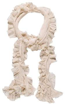 Ralph Lauren Ruffle-Trimmed Silk Scarf