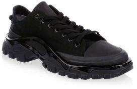 Adidas By Raf Simons Raf Simons Lace-Up Low-Top Sneakers