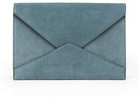 Banana Republic Italian Suede Expandable Envelope Pouch