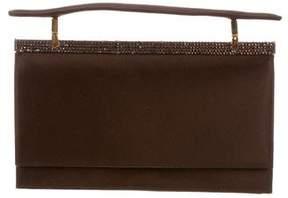 Judith Leiber Satin Embellished Bag