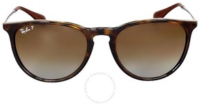 Ray-Ban Erika Classic Polarized Brown Gradient Sunglasses RB4171710/T554