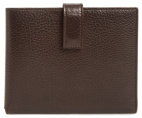 Mezlan Men's Perseo Leather Travel Wallet - Brown