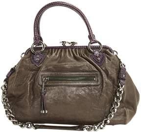 Marc Jacobs Stam leather handbag - GREY - STYLE