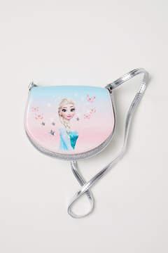 H&M Glittery Shoulder Bag - Silver