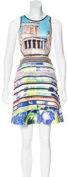 Clover Canyon Printed Cutout Dress w/ Tags