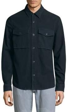 J Brand Muttnik Casual Button-Down Shirt Jacket