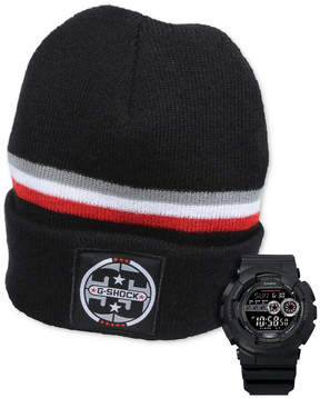G-Shock Men's Digital 35th Anniversary Black Strap Watch Gift Set 51mm, Created for Macy's
