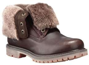 Timberland Women's Authentics Shearling Fold-Down Boot