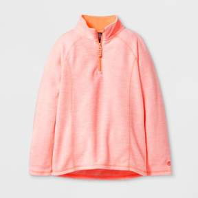 Champion Girls' Microfleece Quarter Zip