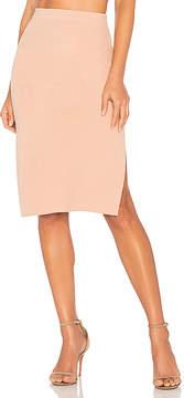 MinkPink Knitted Pencil Skirt