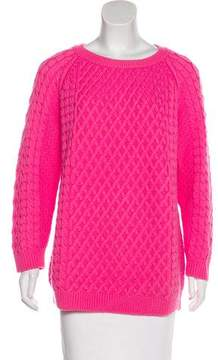 Chinti and Parker Long Sleeve Cable Knit Sweater
