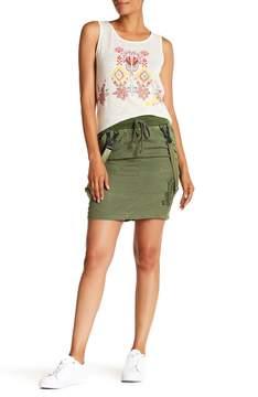 Desigual Suspender Skirt
