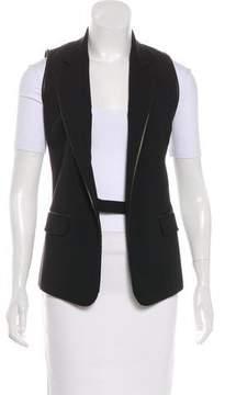 Barbara Bui Wool Notch-Lapel Vest
