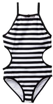 Kate Spade Side Cut-Out One Piece Swimsuit (Toddler & Little Girls)