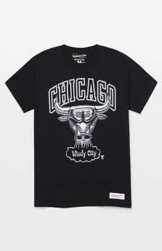 Mitchell & Ness Chicago Bulls Chrome T-Shirt