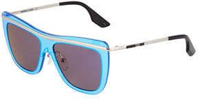 McQ Shield Metal/Plastic Sunglasses