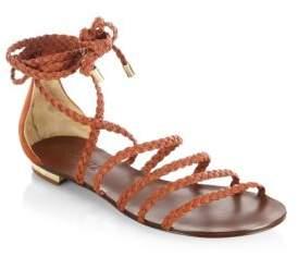 Schutz Victore Leather Sandals