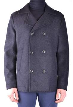 Massimo Rebecchi Men's Black Polyester Coat.