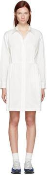 Edit White Cotton Shirt Dress