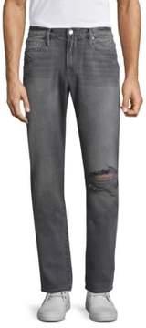 Frame L'Homme Slim Fit Distressed Jeans