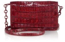 Nancy Gonzalez Crocodile Chain Wallet