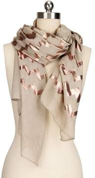 Saachi Women's Rose Gold Scarf.