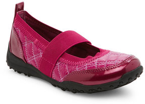 Nina Kids Girls) Berry Julia Quilted Mary Jane Shoes