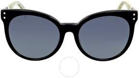 Fendi Grey Gradient Cat Eye Sunglasses