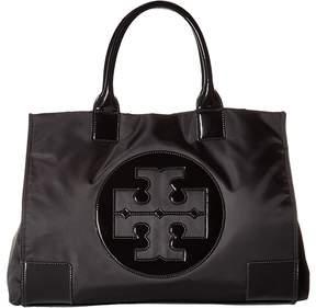 Tory Burch Ella Tote Tote Handbags - BLACK/BLACK - STYLE