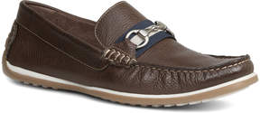 Giorgio Brutini Brown Tiller Leather Loafer - Men