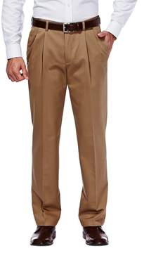 Haggar Men's Work to Weekend® Classic-Fit Pleated Expandable Waist Pants